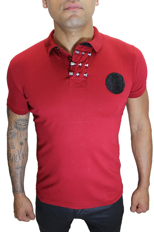 P-888 RED, BLUE, CHARCOAL
