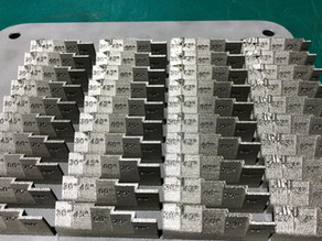 Metal 3D printing machine set up and testing