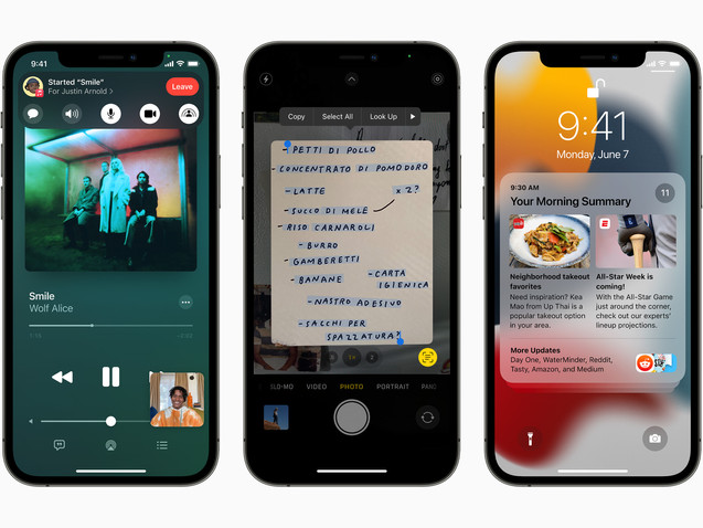 iOS 15 brings new ways to stay connected and powerful features that help users focus, explore, and do more with on-device intelligence