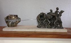 small replica of canto al trabajo