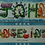Thumbnail: R1: Rainbow Calligraphy for 1 Name (Large)