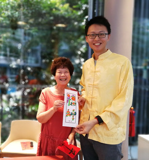 Rainbow Calligraphy Event Arts Singapore