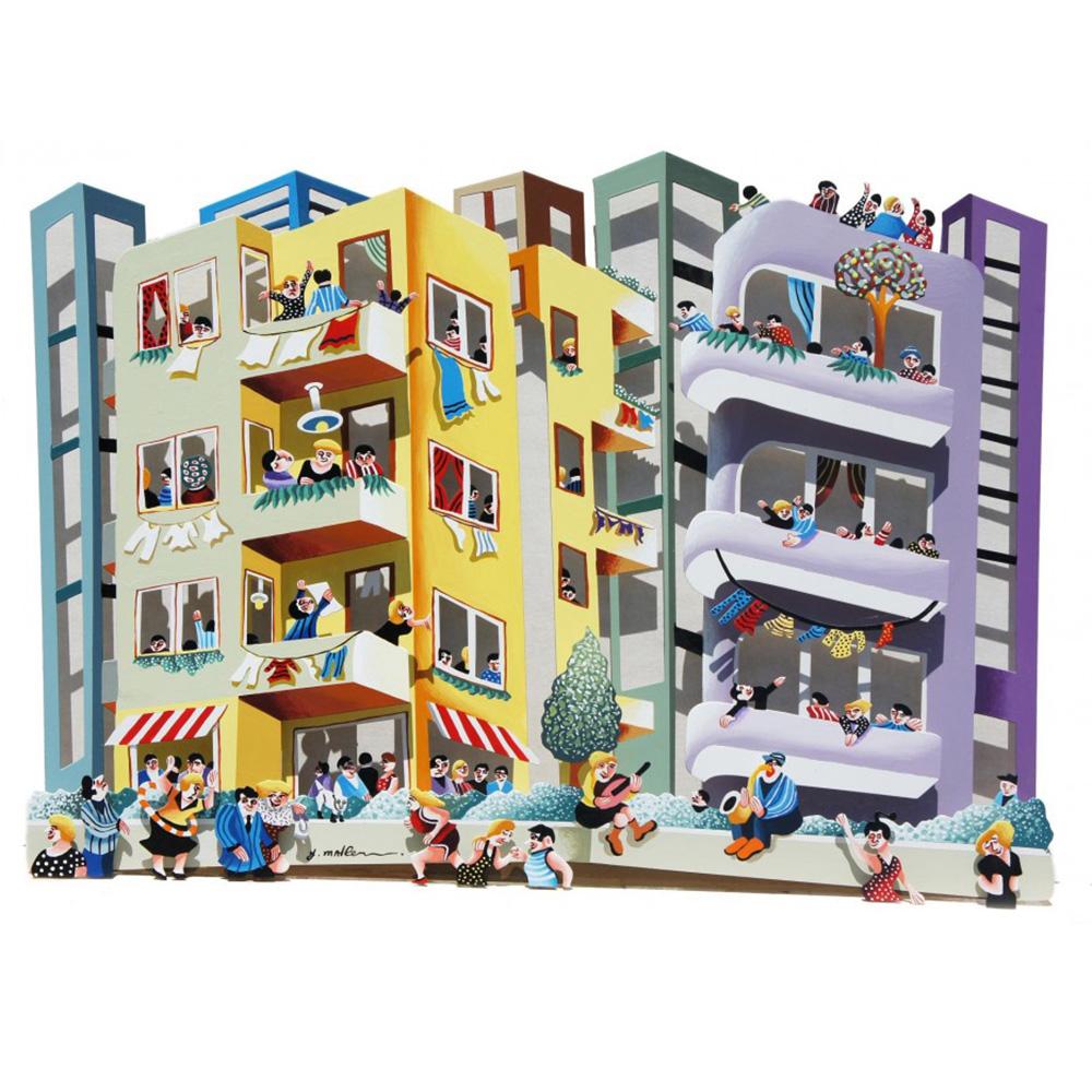 3D Tel Aviv Bauhaus