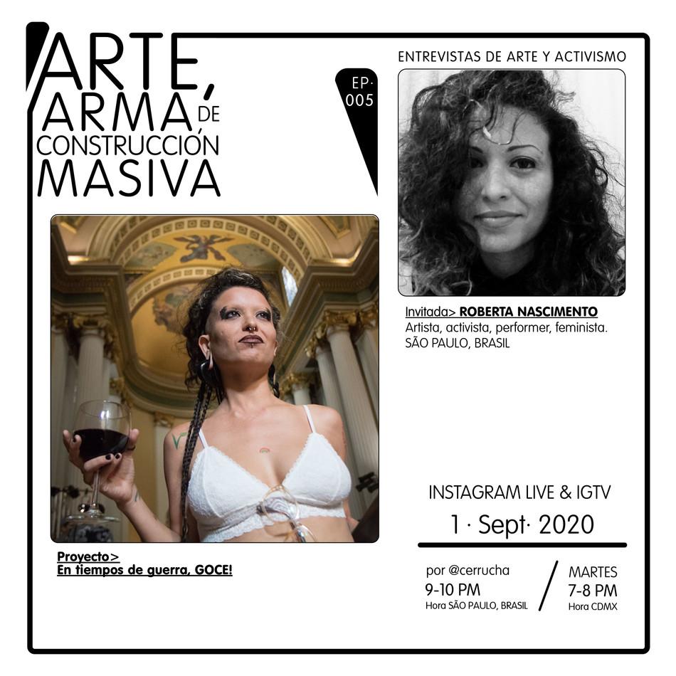 EP. 5 ROBERTA NASCIMENTO (BRASIL)