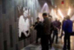 Public Intervention at the Festival Art Souterrain, Palais des Congrès, Montréal, 2014