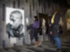 Public Intervention at the Festival Art Souterrain, Palais des Congrés, Montrèal, 2014