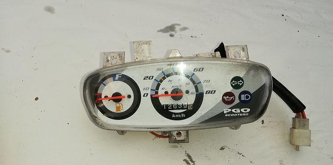 PGO, Speedometer analog - originalt #1002