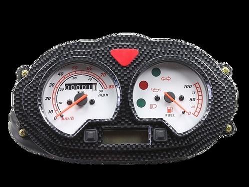 Speedometer, Carbon look
