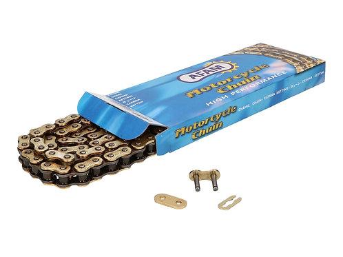 Kæde Guld AFAC - 420 x 140L - Aprilia, Derbi, Gilera, Reiju