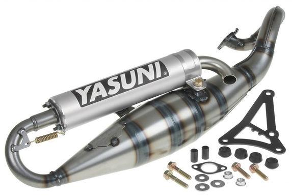 Udstødning - Yasuni R,  Aluminium