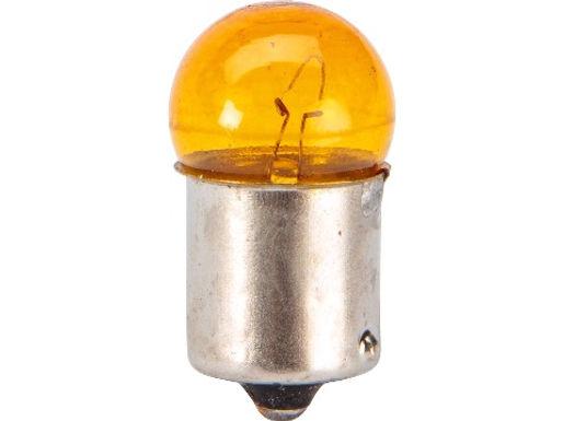 Blinklyspære Orange - Standard BA15S