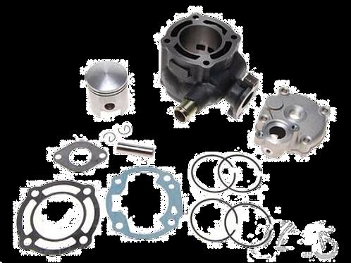 Cylinderkit incl topstykke 70ccm - 12mm krydspind - Suzuki, Aprilia
