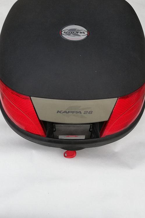 scooter, topbox 25 liters med monteringsbeslag