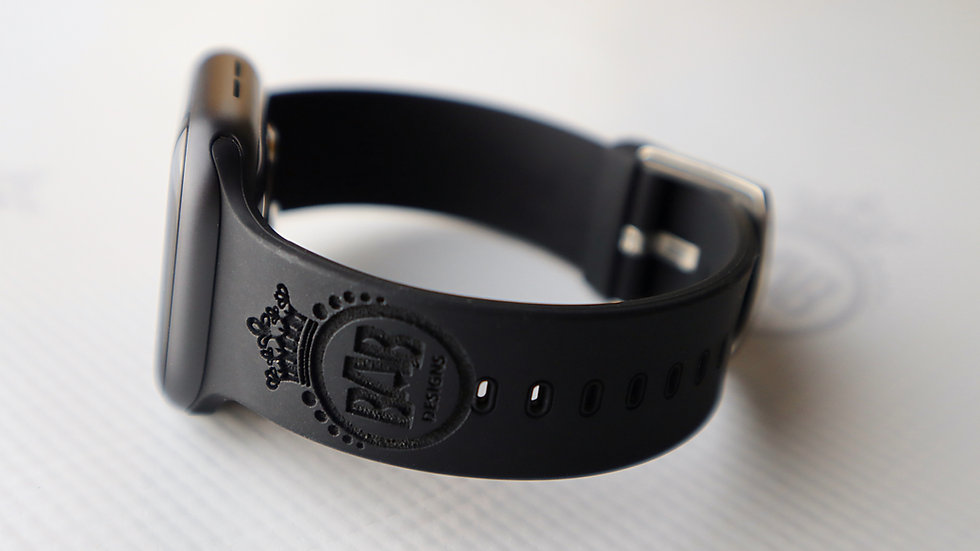 Personalized Band for Apple Watch®, 42/44mm, Laser Engraved