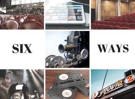Six Ways Christians Watch Films: Part 1
