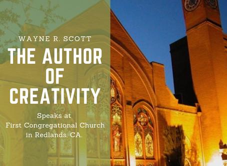 Wayne Scott Speaks on the Author of Creativity