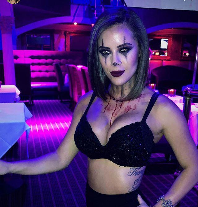 Super fun makeup i got to do last night
