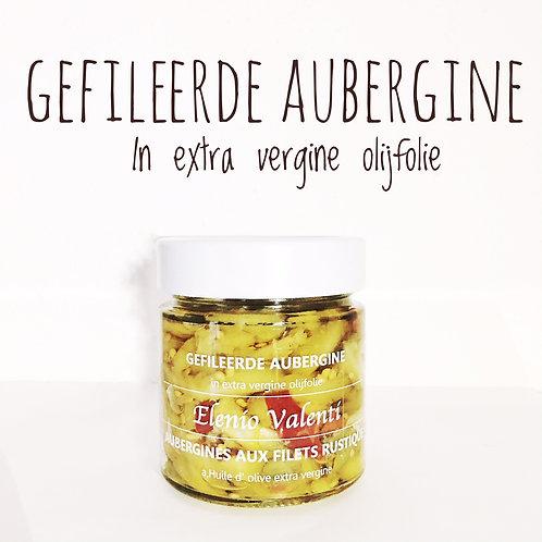 Gefileerde Aubergine Antipasti