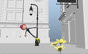 Exaggerated Body Mechanics Animation