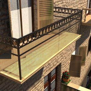 Italian Environment Balcony