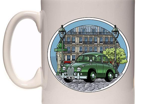 Jaguar MK2 et décors Haussmanniens RC2
