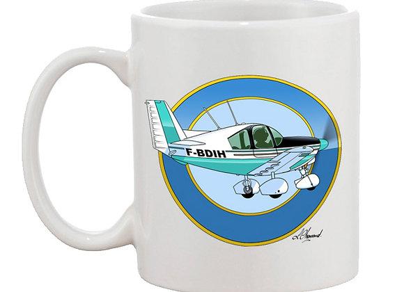 Wassmer WA 52 mug blanc rondache