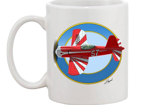 Super Corsair mug blanc rondache