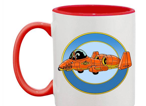 A-10 Thunderpumpkin mug rouge