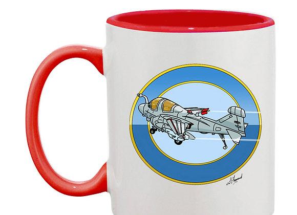 Prowler mug rouge rondache