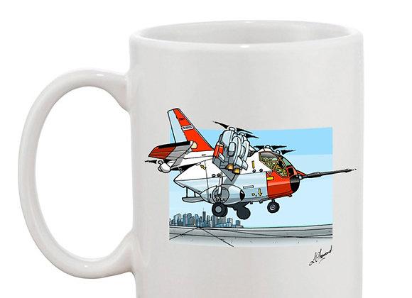 Hiller mug blanc décor