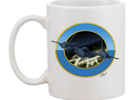 SR-71 mug blanc rondache