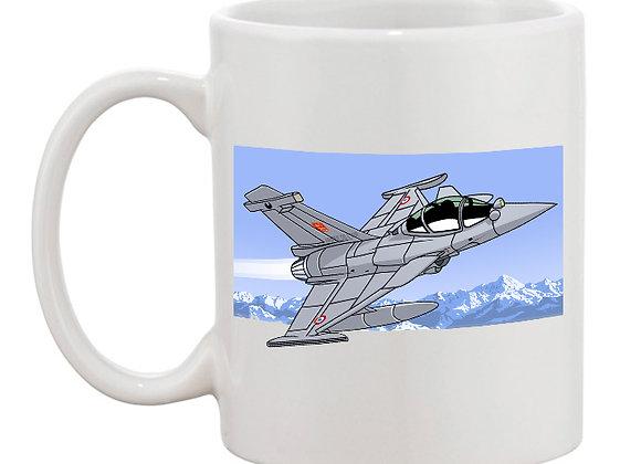 Dassault Rafale montagne mug blanc