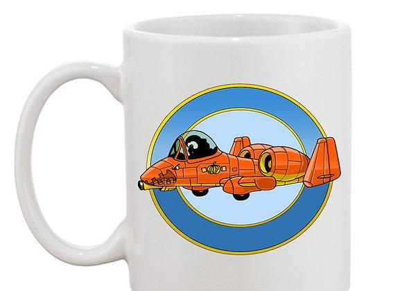 A-10 Thunderpumpkin mug blanc