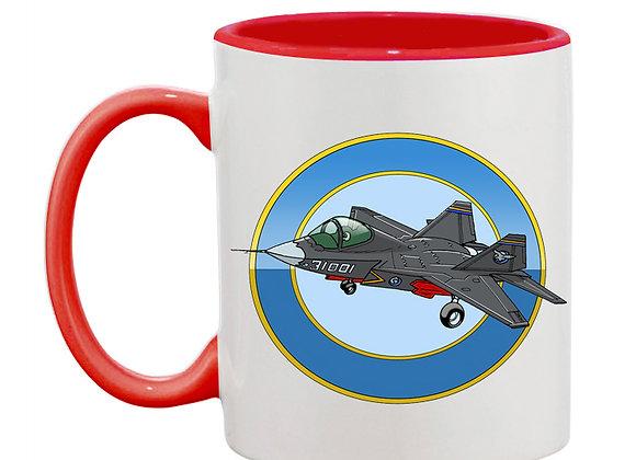Shengyang J-31 mug rouge rondache