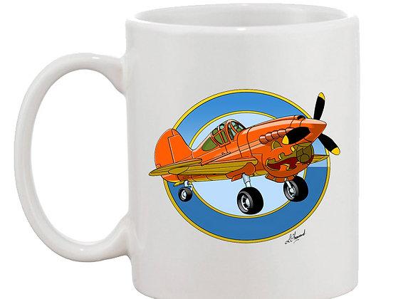 Pumpkin 40 mug blanc rondache