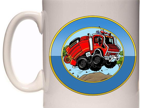 Hanomag-mercedes pompier feu de forêts