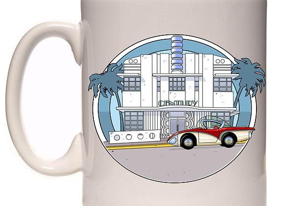 Concept car Buick Centurion et architecture art déco Miami RC2