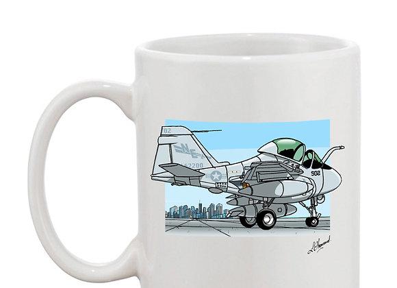 Intruder mug blanc décor