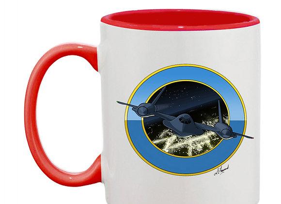 SR-71 mug rouge rondache
