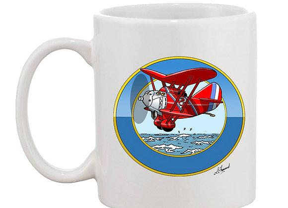 Breguet 19 mug blanc rondache océan