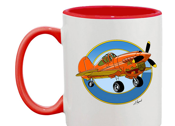 Pumpkin 40 mug rouge rondache