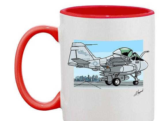 Intruder mug rouge décor