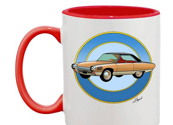 Chrysler turbine mug rouge rondache