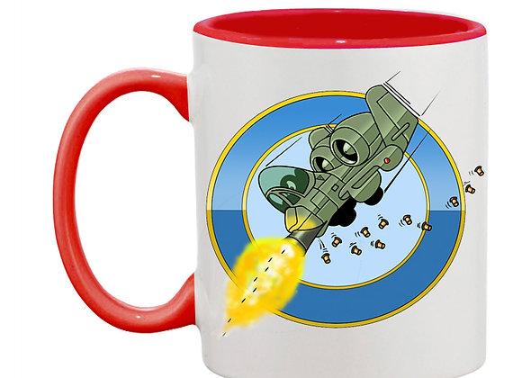 A 10 attaque rondache mug rouge