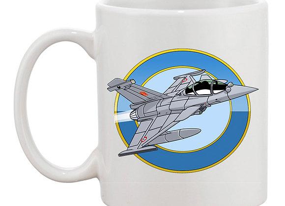 Dassault Rafale rondache mug blanc
