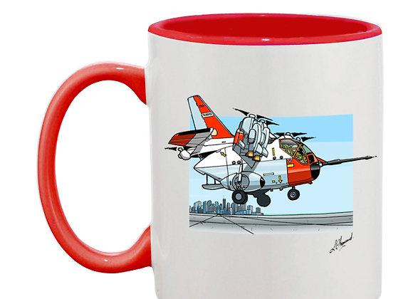 Hiller mug rouge décor
