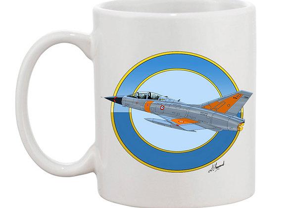 Mirage III essais en vol mug blanc rondache claire