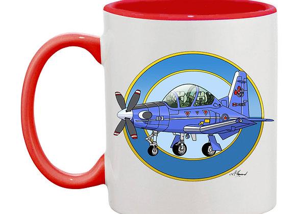 Beechcraft Texan II (Canada) mug rouge