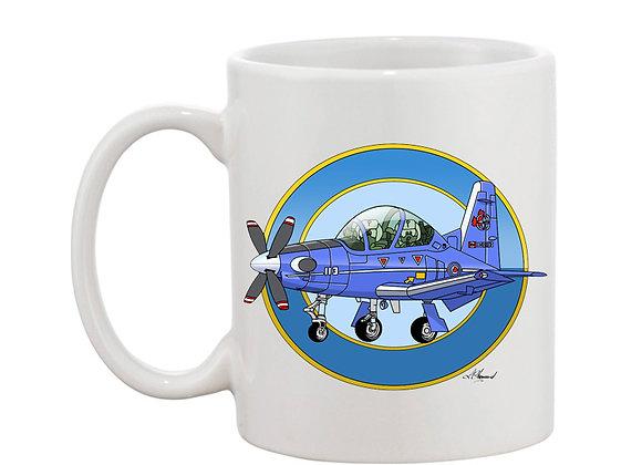 Beechcraft Texan II (Canada) mug blanc