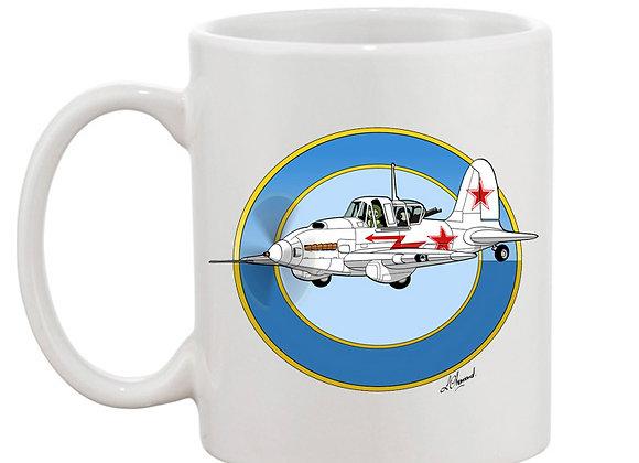 Sturmovik mug blanc blanc rondache